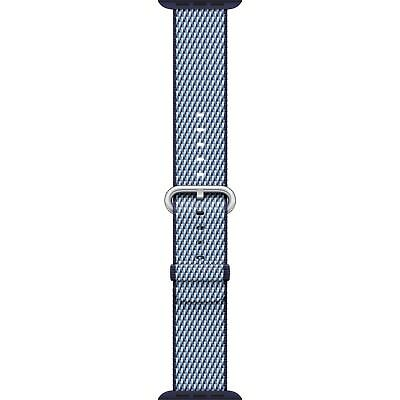 Genuine Apple Watch Woven Nylon Band (42mm, Midnight Blue) - VG - No Box