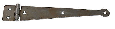 "ANTIQUE IRON PENNY END HINGE STRAIGHT 7"" FOR BLANKET BOX / CHEST Includes screws"