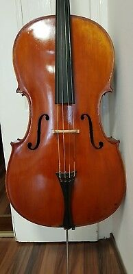 4/4 Old cello alte violoncello geige violin viola bratsche Collin Mezin
