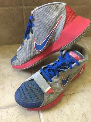 5f45d548d18f Nike KD Kevin Durant Trey 5- Men s Size 11.5 Basketball Hightops - Red Gray  Blue