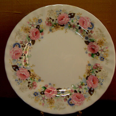 """Minton  Rose Garland English China - 10.625"""" Dinner Plate - Mint Condition"""