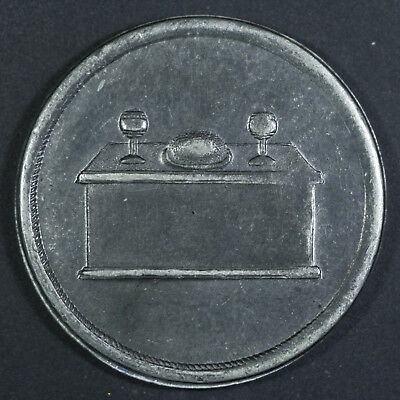 Communion token Bo 261, CH ST-200A2 EXTREMELY RARE - White Medal