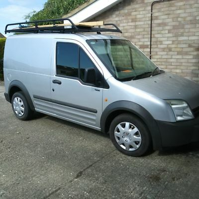 Ford Transit Connect Van with Rhino Roof Rack