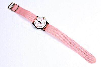 PSA Vintage Wrist WATCH Love PINK Band Original Pacific Southwest Airlines BOX