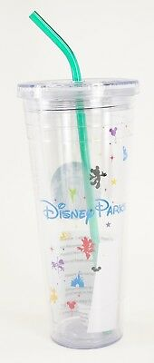 New Disney Parks Starbucks Cold Cup Venti 24oz Acrylic Tumbler RETIRED