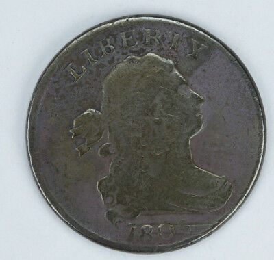 1803 Draped Bust Half Cent problem coin