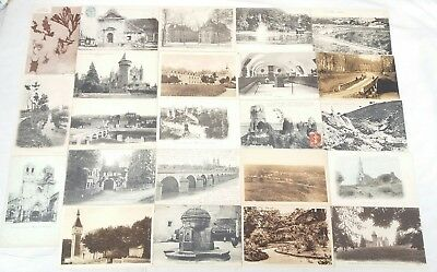 lot 120 cpa cartes postales anciennes 03 allier