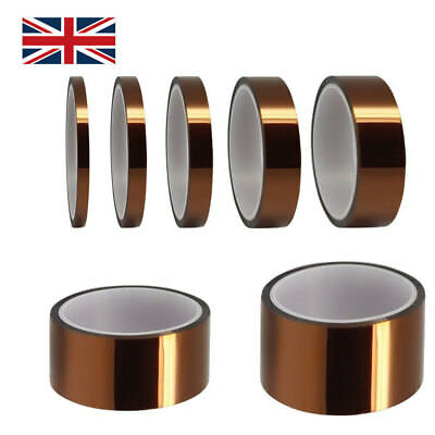 33m High Temperature Heat Resistant Insulation Tape Polyimide BGA PCB Tool Home