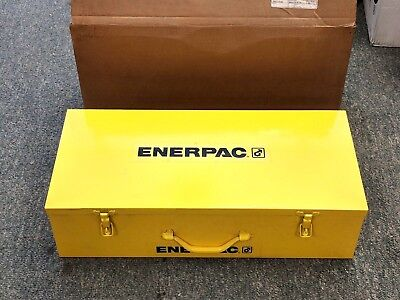 New Enerpac Hydraulic Knockout Punch Set Metal Storage  Case 1 Cu.Ft- 277-CM-1