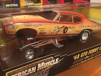 Ertl 1:18 1968 Pontiac GTO Funny Car Arnie The Farmer Beswick
