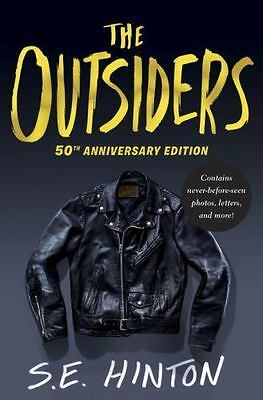 The Outsiders by S. E. Hinton SE Hardcover Book Anniversary Edition NEW Hardback