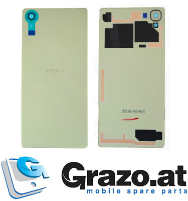 Sony Xperia X F5121- Original Akkudeckel Batterie Back Cover LIME GOLD 1299-9856