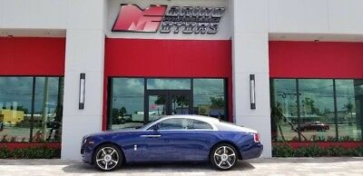 2015 Rolls-Royce Wraith  2015 WRAITH - ONLY 7,000 MILES - $366,125 MSRP NEW - 1 OWNER - FLORIDA