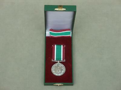 Womens Voluntary Service Medal In Box Of Issue