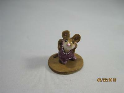 Wee Forest Folk Wedding Guest LE 2016 Mouse Expo - Super Tiny WFF!