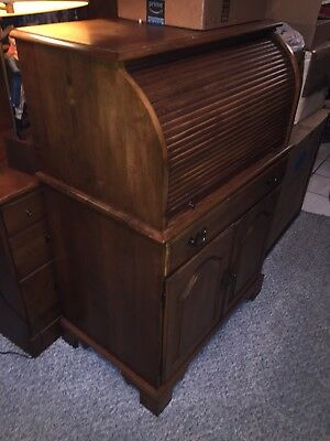 ***Rare***Ethan Allen Circa 1776 Computer Desk....Read Description!!