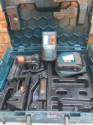 Bosch Gll 2-50 Proffesional Self Leveling Laser Level And Lr2 Receiver