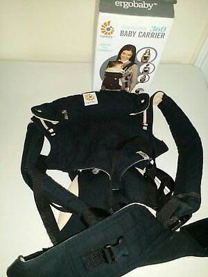 Used Ergo Baby 360 Carrier  in Black and Camel