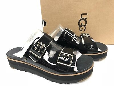 7b1ce2707c3 WOMENS PUNK DENIM Sandals Block Chunky Heels Platform Buckle Strap ...