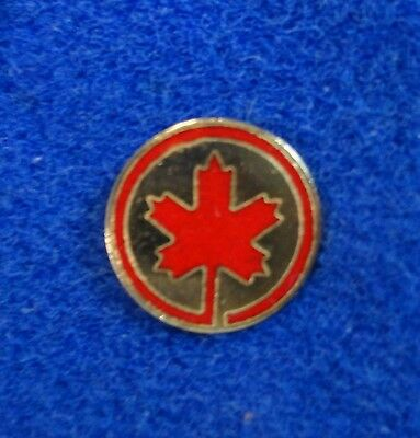 Vintage Air Canada TCA Airlines Red Maple Leaf Logo Aviation Plane Lapel Pin