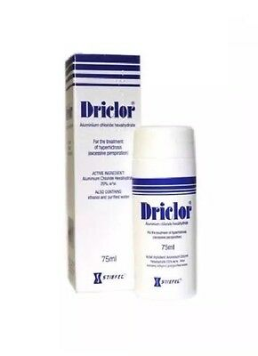 ⭐️WOW⭐️Driclor Antiperspirant ‼️1x75 ML Roll-On ‼️For Excessive Sweating⭐️WOW⭐️