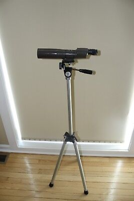 spotting telescope vintage Swift Scanner Model 847 25x50mm with tripod