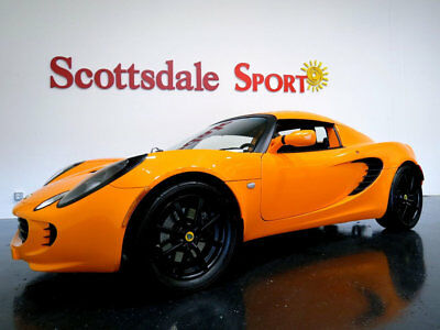Lotus Elise Touring * ONLY 18K Miles...Touring Edition 05 LOTUS ELISE TOURING * 18K Mi, CHROME ORANGE, TOP, A/C, PW, WHLS, EXHAUST