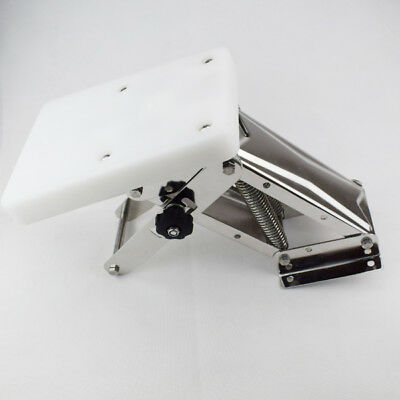 Heavy Duty Stainless Steel Outboard Motor Bracket Up To 25hp White Set Fabulous