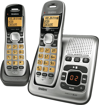 NEW Uniden DECT1735+1 Cordless Phone Twin Pack
