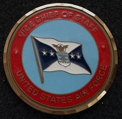 AUTHENTIC Vice Chief of Staff US Air Force USAF General Foglesong Challenge Coin