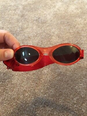Baby Banz Sunglasses Red Toddler Size 1-3