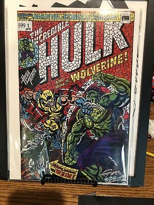 Hulk #181 Shattered Variant The Hunt For Wolverine #1 Sold Out