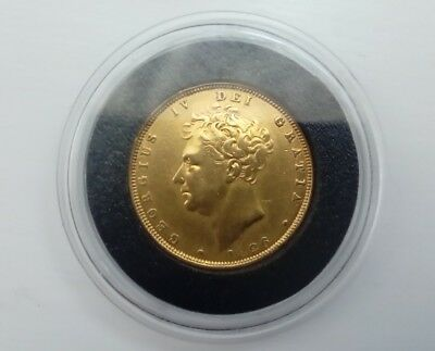 1826 George 1V  22Ct Gold Sovereign