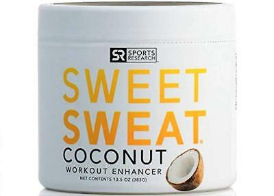 NEW!! Sweet Sweat with Extra Virgin Organic Coconut Oil; 'XL' Jar 13.5oz