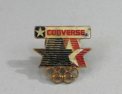 Vintage 1984 Los Angeles Olympic Pin Back Advertising Converse Shoes