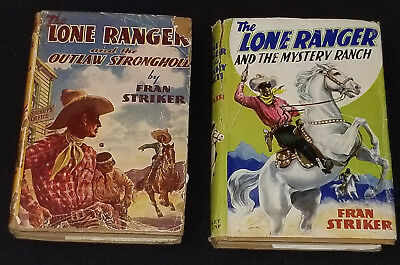 The Lone Ranger - 1938 Mystery Ranch #2 + 1939 Outlaw Strong Hold #4 - Books (2)