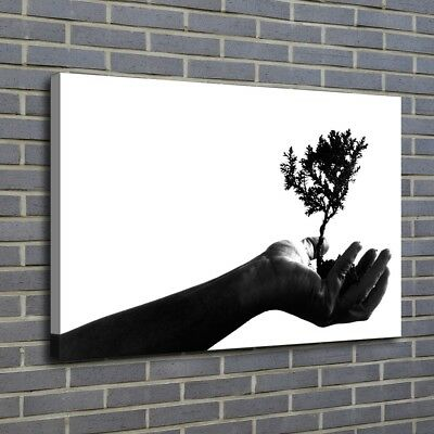 Hand Wood Earth Painting HD Print on Canvas Home Decor Room Wall Art Picture