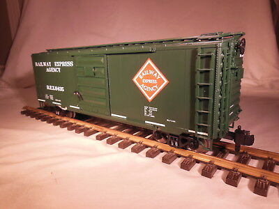 70-74048 Railking REA Boxcar G scale