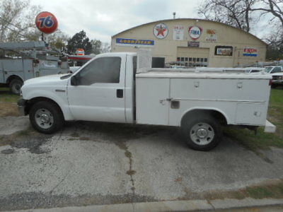 2006 Ford F-350 Utility Bed Truck-Toolboxes