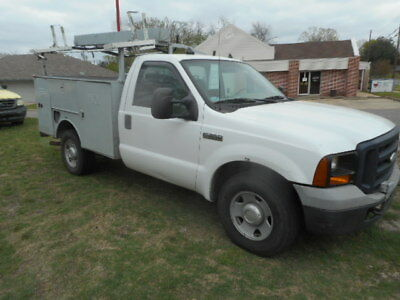 2006 Ford F-350 Utility Bed Truck-Toolboxes/Ladder Rack