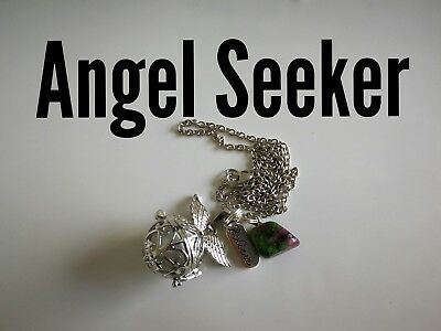 Code 875 Angel Seeker Baby Caller Musical Ball Infused Necklace Pregnancy IVF