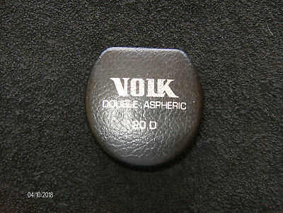 Volk 20D Aspheric Diagnostic Yellow Coated Lens , With Case
