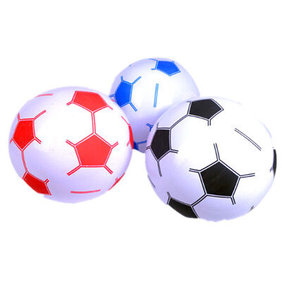 38cm Inflatable Football Assorted Beach Pool Ball Sports Kick Game Kids Toy JDUK