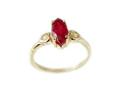 "19thC Antique 1ct Ruby Ancient Hebrew Israel Biblical ""Lord of Gems"" Amulet Ring"