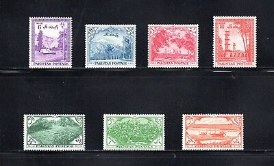 Pakistan 1954 7th Anniversary of Independence SG 65/71 MH