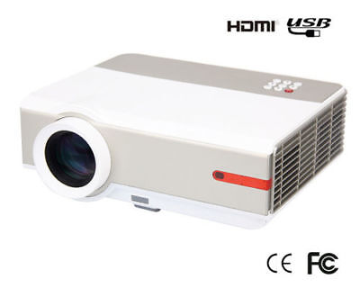 5000 Lumens 1080P Full HD Home Theater Android TV HDMI USB LCD LED 3D Projector