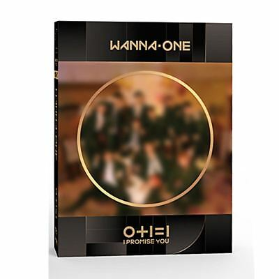 WANNA ONE 0+1=1 I Promise You Night Ver 2nd Mini Album Poster+Booklet+Etc KPOP