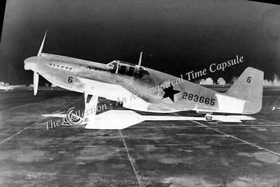 North American A-36 Mustang 42-83665 35mm copy negative