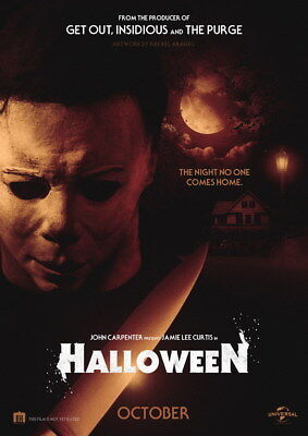 "002 Halloween 2018 - Judy Greer Horror USA Movie 24""x33"" Poster"