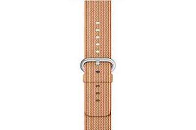 Apple Watch Nylon Band 38mm, Gold/Red MM9R2AM/A
